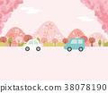 spring, cherry, blossom 38078190