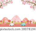 ฤดูใบไม้ผลิ,ดอกซากุระบาน,ซากุระบาน 38078194