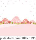 ฤดูใบไม้ผลิ,ดอกซากุระบาน,ซากุระบาน 38078195