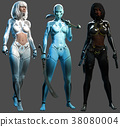 Female androids 38080004