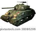 Sherman tank 38080206