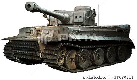 Tiger tank in steel grey 38080211