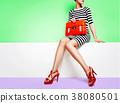 购物 女生 女孩 38080501