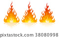 fire, flame, vector 38080998