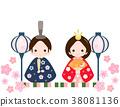 히나 인형, 히나마츠리, 오다이리사마 38081136