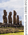 Moais on Easter Island, Chile 38081955