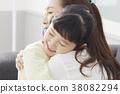 住房,生活,家庭,母親,女兒,韓國人 38082294