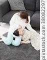 住房,生活,家庭,母親,女兒,韓國人 38082297