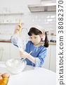 요리중,어린이,한국인 38082370