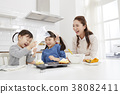 烹飪,母親,女兒,韓國人 38082411