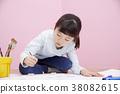 drawing, writing brush, hair pencil 38082615