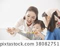 烹飪,母親,女兒,韓國人 38082751