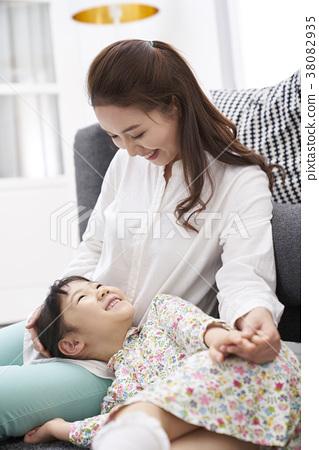 住房,生活,家庭,母親,女兒,韓國人 38082935