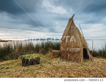 Uros Islands on Lake Titicaca in Peru 38084113