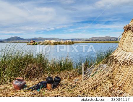 Uros Islands on Lake Titicaca in Peru 38084117