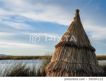 Uros Islands on Lake Titicaca in Peru 38084122