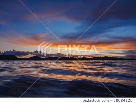 Uros Islands on Lake Titicaca in Peru 38084126