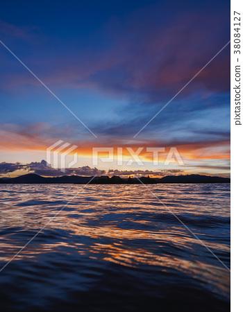 Uros Islands on Lake Titicaca in Peru 38084127