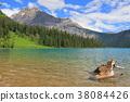 캐나다 에메랄드 호수 38084426