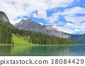 캐나다 에메랄드 호수 38084429