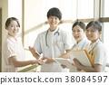 咨询的护士 38084597