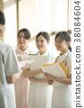 咨询的护士 38084604
