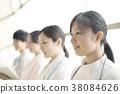 一位微笑的护士 38084626
