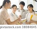 咨询的护士 38084645
