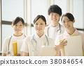 医院的微笑的护士 38084654