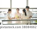 咨询的护士 38084662