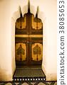 摩洛哥馬拉喀什門古色古香的摩洛哥設計阿拉伯樣式摩洛哥內部 38085653