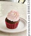 杯形蛋糕美国五颜六色的杯形蛋糕流行美国蛋糕纽约 38086320