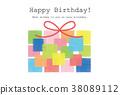 present, birthday, birthdays 38089112