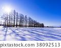 十勝地區的雪景 38092513