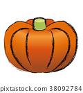 矢量 蔬菜 南瓜 38092784