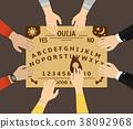 Ouija board playing  38092968