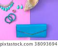 Fashion woman accessories set. 38093694