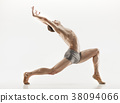 Athletic ballet dancer in a perfect shape 38094066