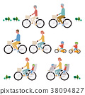 자전거 일러스트 세트 38094827