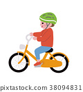 自行車 腳踏車 人 38094831