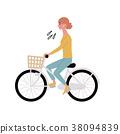 自行車 腳踏車 插圖 38094839