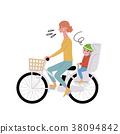 自行車 腳踏車 人 38094842