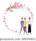 樱花 樱桃树 春天 38094861