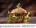 hamburger sandwich italian 38095507