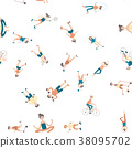 people, sport, exercises 38095702