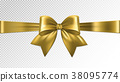 bow, gold, ribbon 38095774