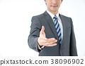 商务人士 商人 男性白领 38096902