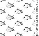金鱼 矢量 矢量图 38097651