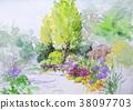 정원 나무 밑 38097703