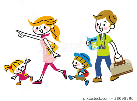 Family travel go out 38098596